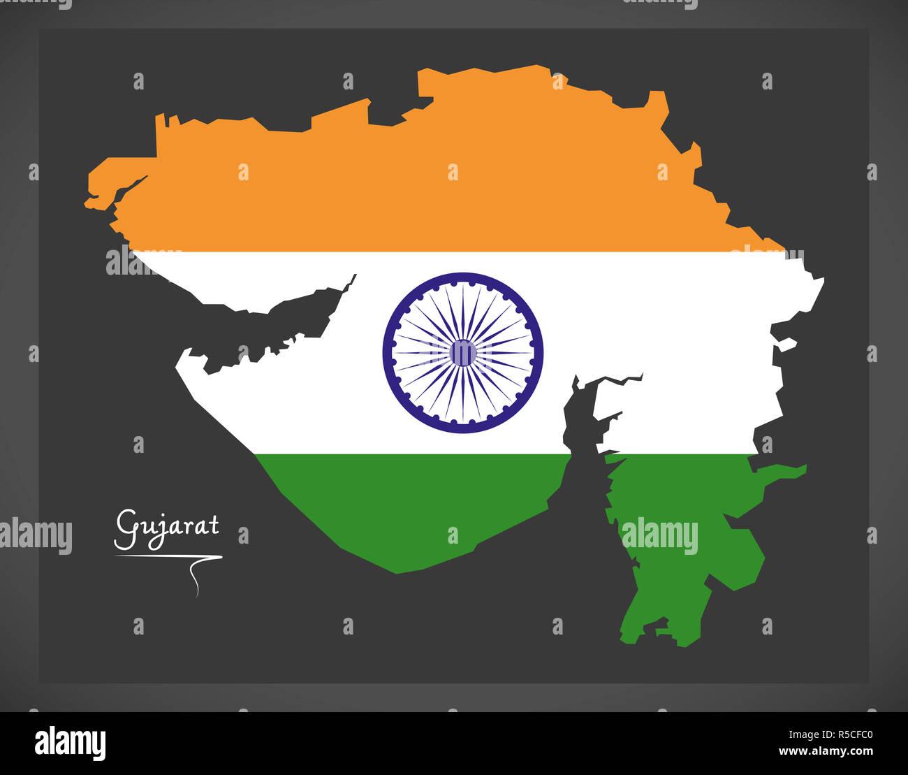 Gujarat Map Stock Photos & Gujarat Map Stock Images - Alamy