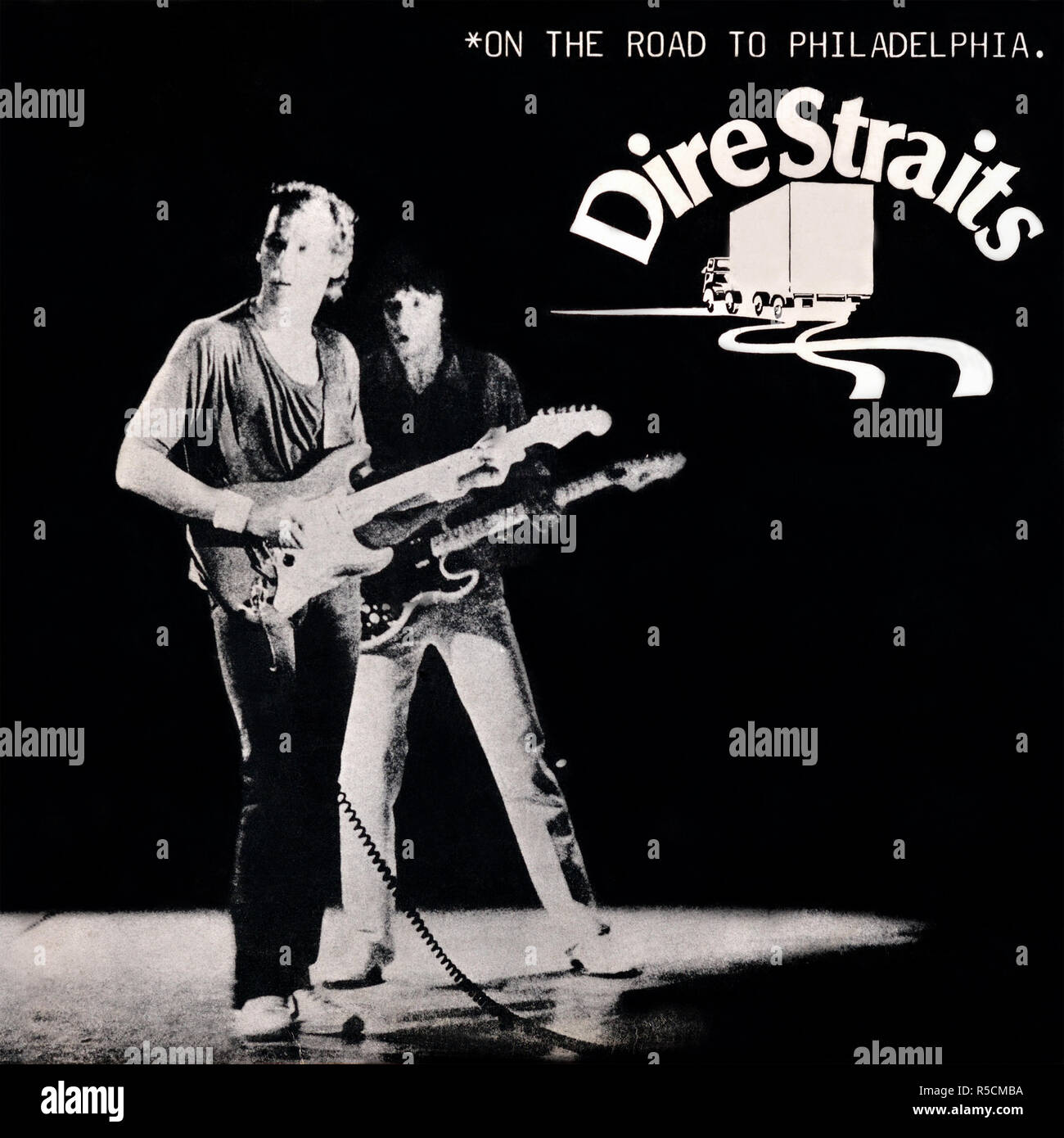 Dire Straits original vinyl album cover - On The Road To