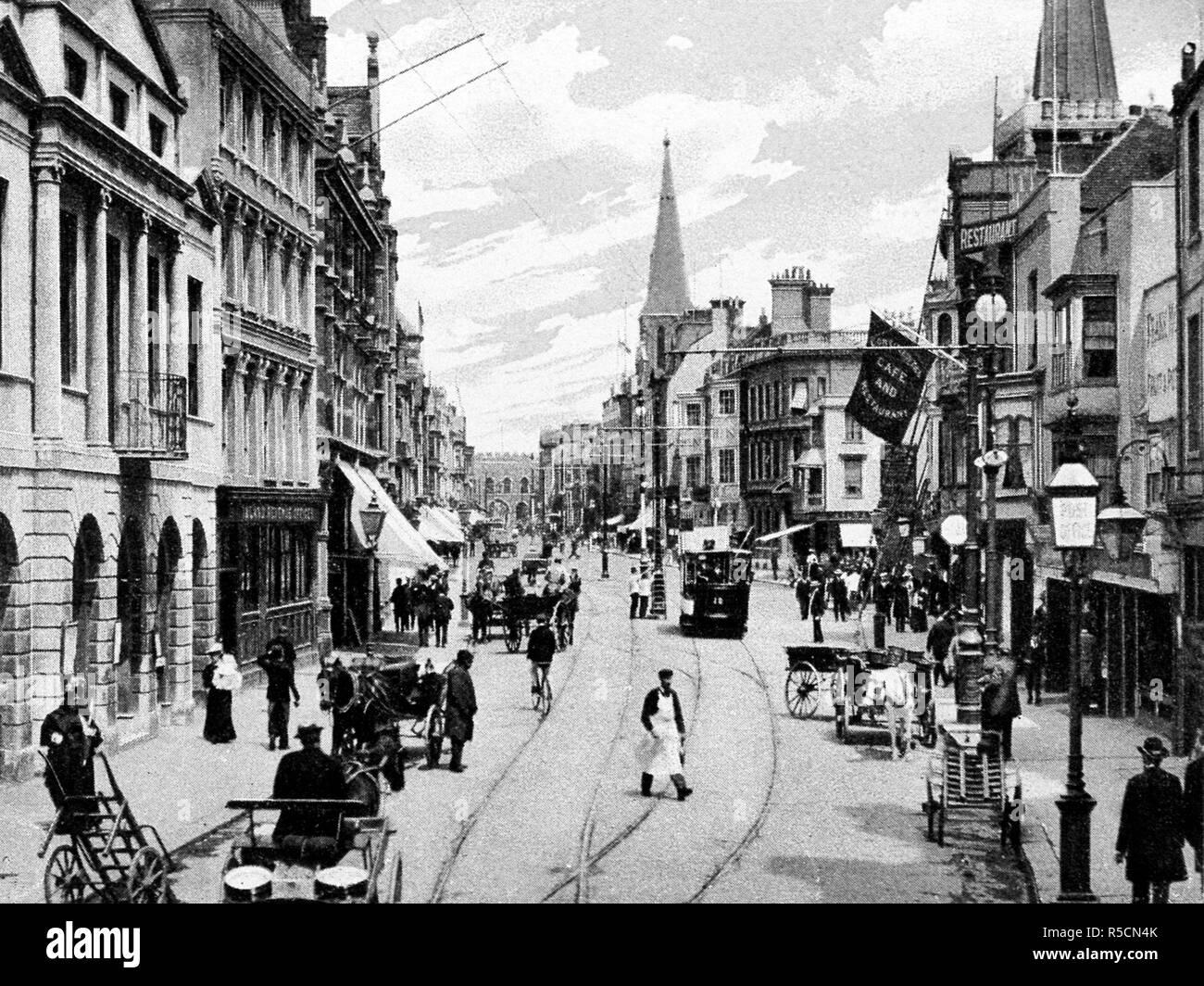 High Street, Southampton - Stock Image
