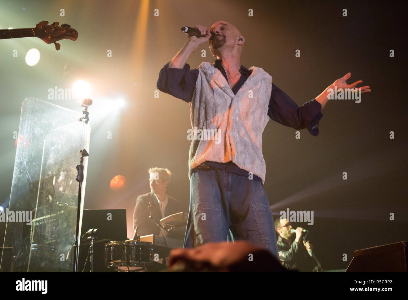 James live at Manchester Arena - Stock Image