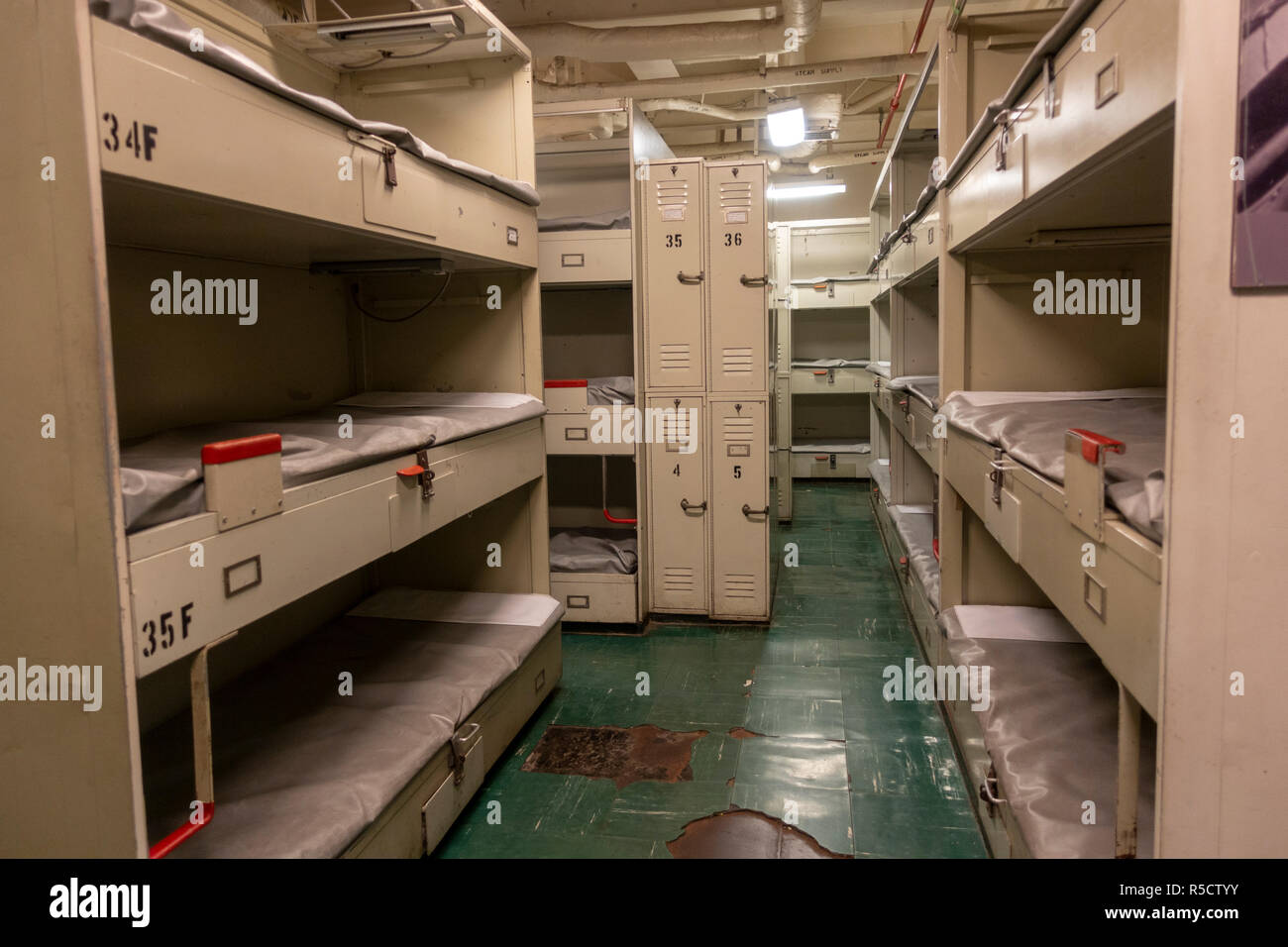 Image result for Berthing area on uss midway
