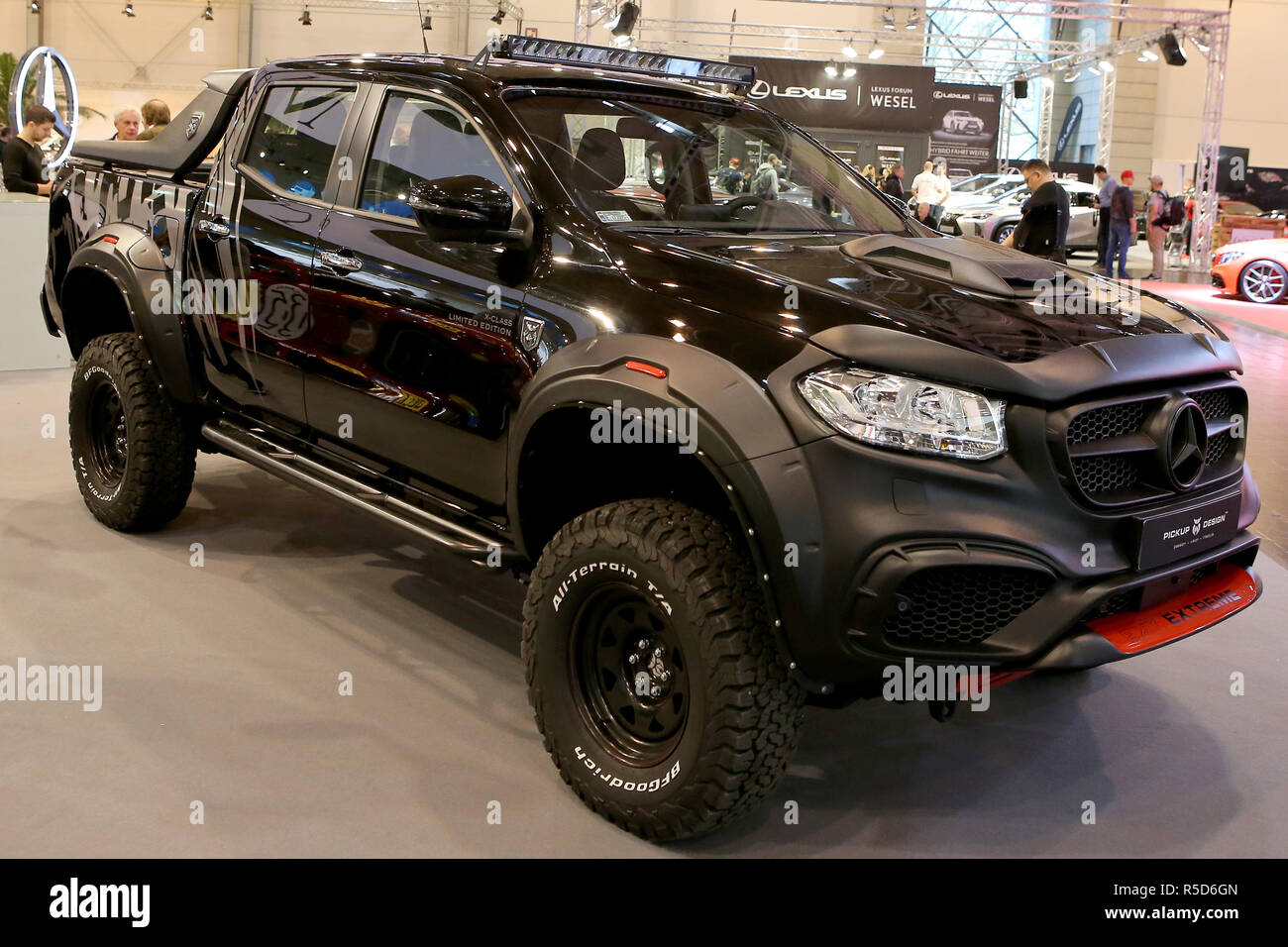 Essen Germany 30th Nov 2018 Mercedes Benz X Class On Display At