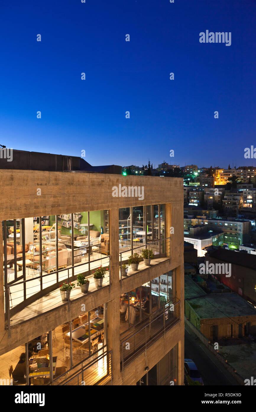 nowy przyjeżdża kup sprzedaż buty sportowe Jordan, Amman, elevated view of Central Amman and Wild ...