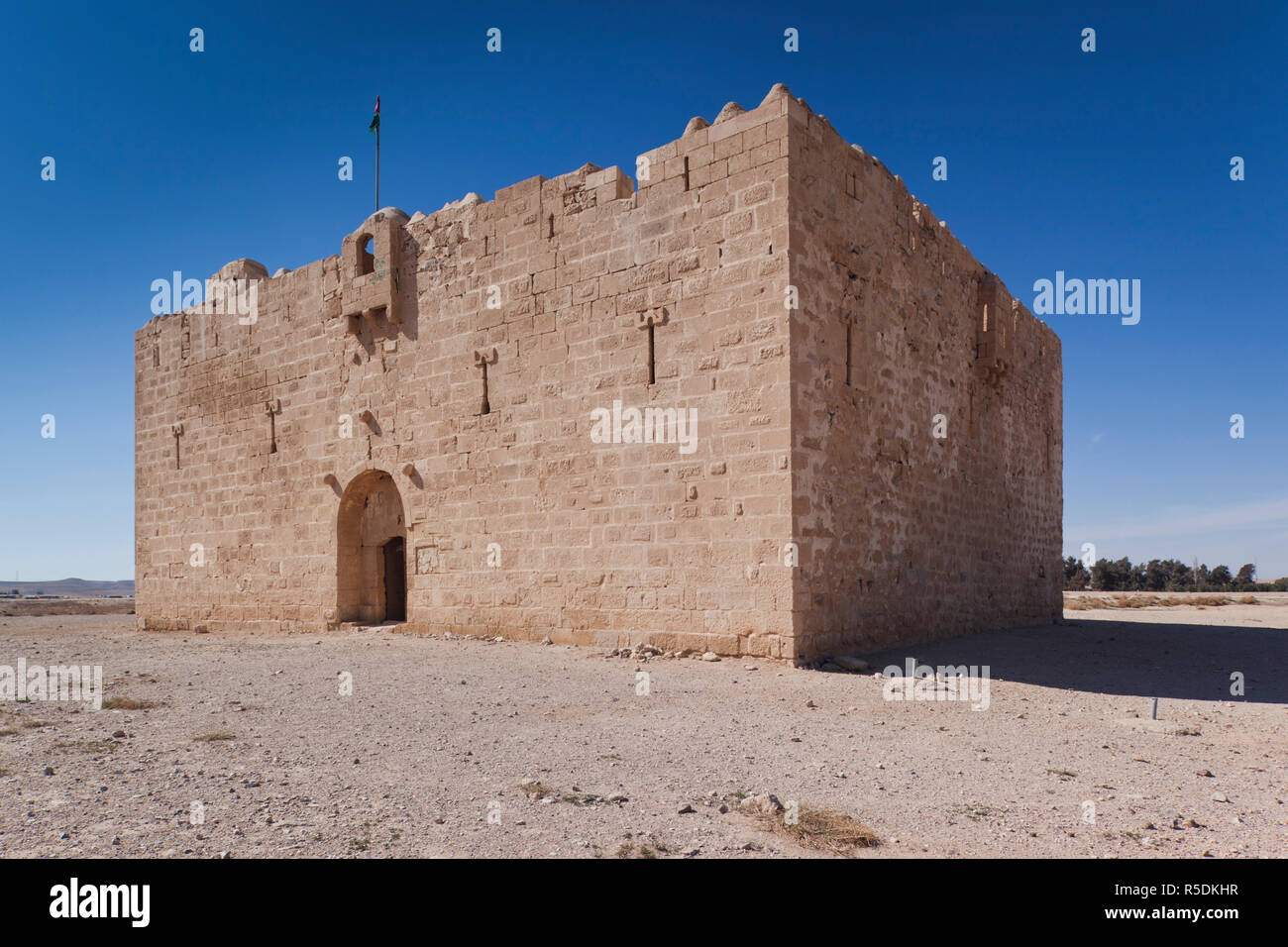 parque Natural trabajo alumno  Jordan, Desert Highway, Qatrana, Qatrana Castle, built by the Orttomans in  1531 AD Stock Photo - Alamy