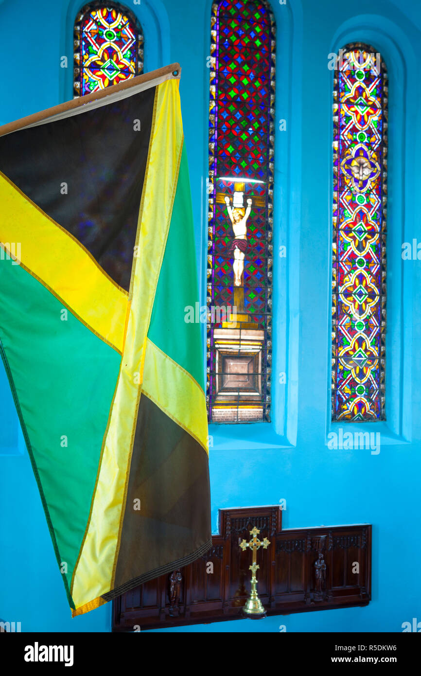 Jamaica West Indies Caribbean Religion Stock Photos & Jamaica West