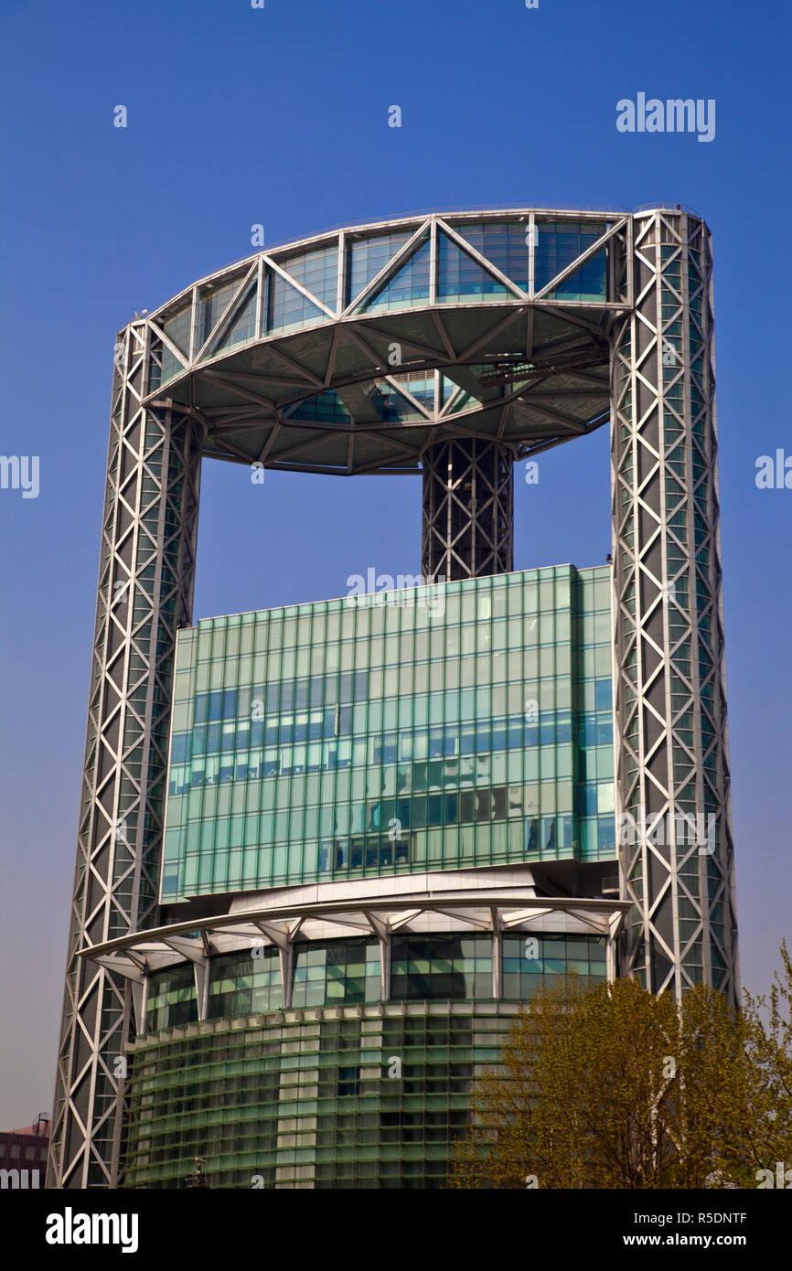 Korea, Seoul, Jongno-Gu, Jongno Tower known as the Samsung building Stock Photo