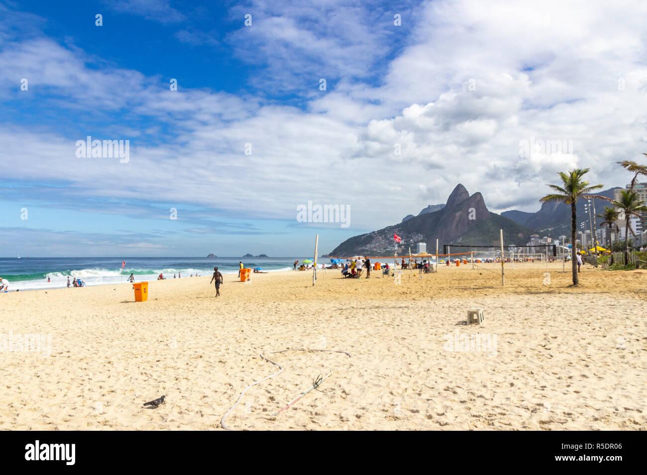 88442bd76 Beach Life In Brazil Stock Photos   Beach Life In Brazil Stock ...