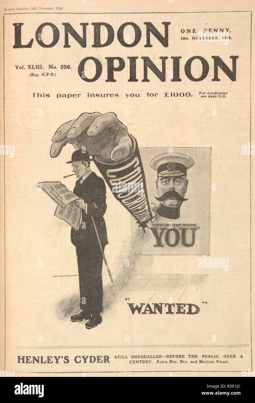 London Opinion Lord Kitchener