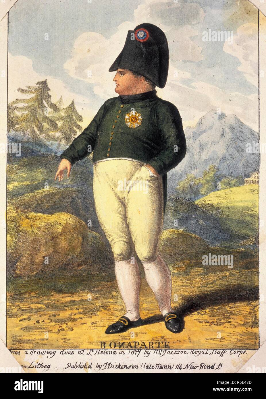 Napoleon Bonaparte. A St. Helena Who's Who ... Extra-illustrated with over two hundred portraits and views, collected, arranged and inlaid by the author and his wife, Margaret Douie Chaplin. London, 1922. Source: L.R.305.a.9, opposite IX. Language: English. - Stock Image
