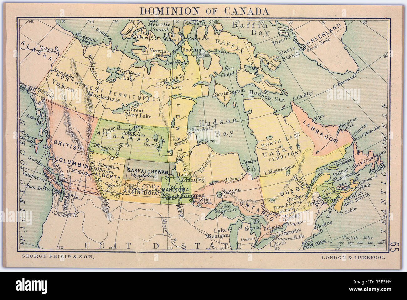 Map Creator.Dominion Of Canada Map Creator Bartholomew J G John George