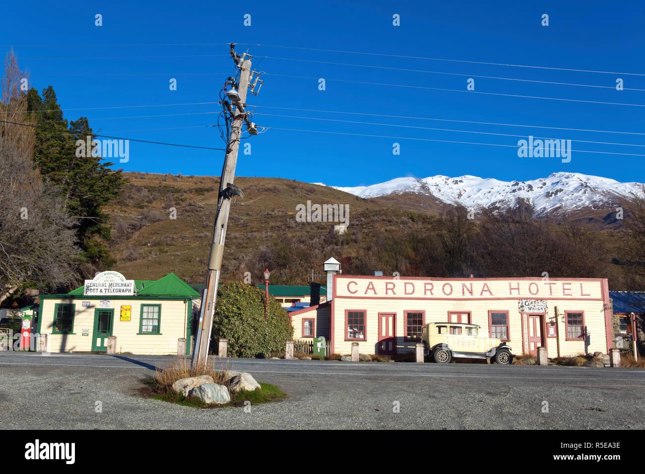 The Historic Cardrona Hotel, Cardrona, Central Otago, South Island, New Zealand - Stock Image