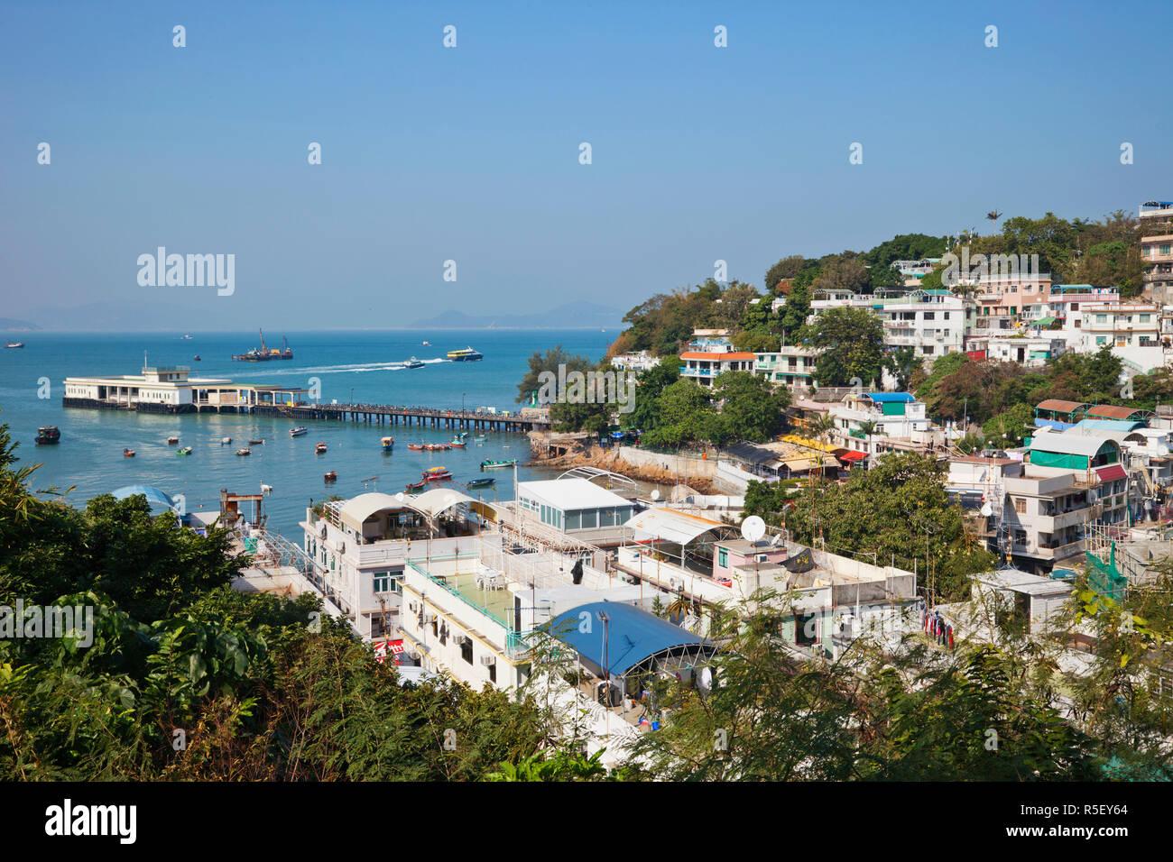 China, Hong Kong, Lamma Island, Yung Shue Wan - Stock Image
