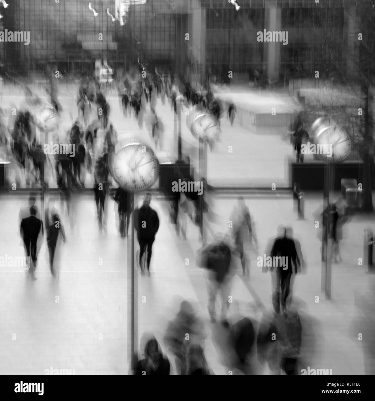Canary Wharf, Docklands, London, England - Stock Image