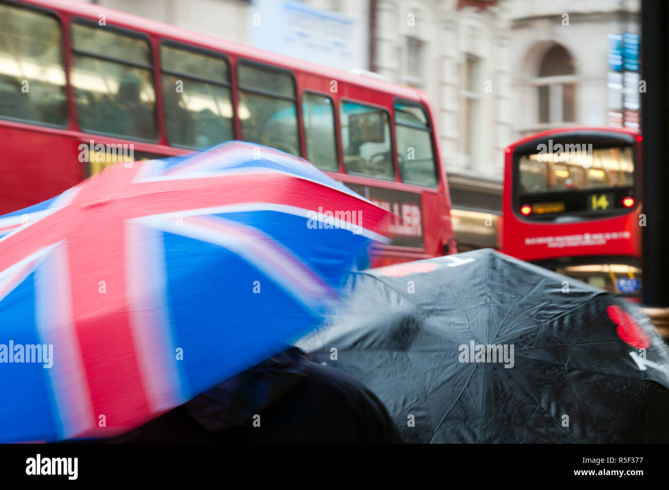 UK, England, London, Shaftesbury Avenue - Stock Image