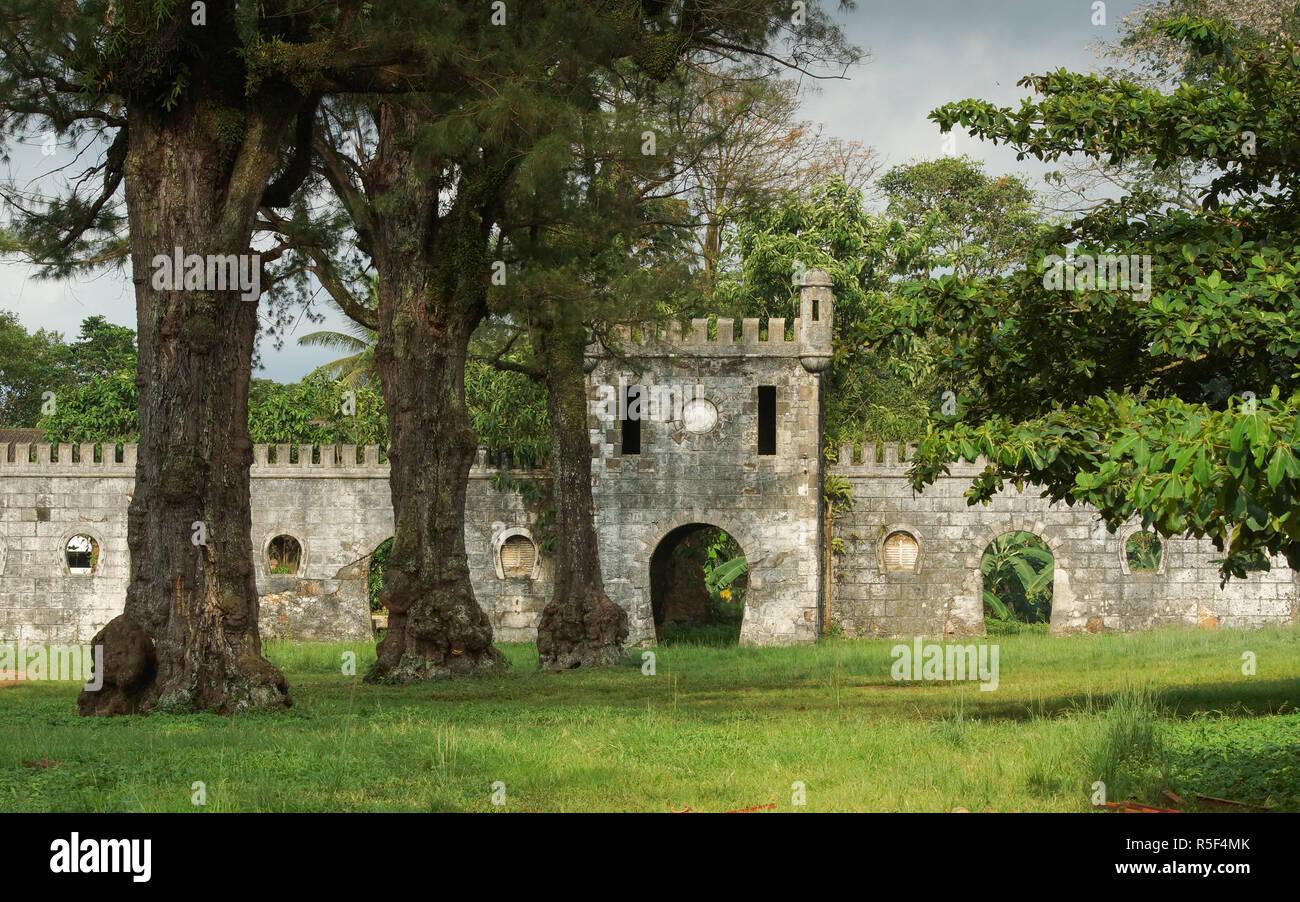 old colonial plantation,principe island,sao tome and principe,africa Stock Photo