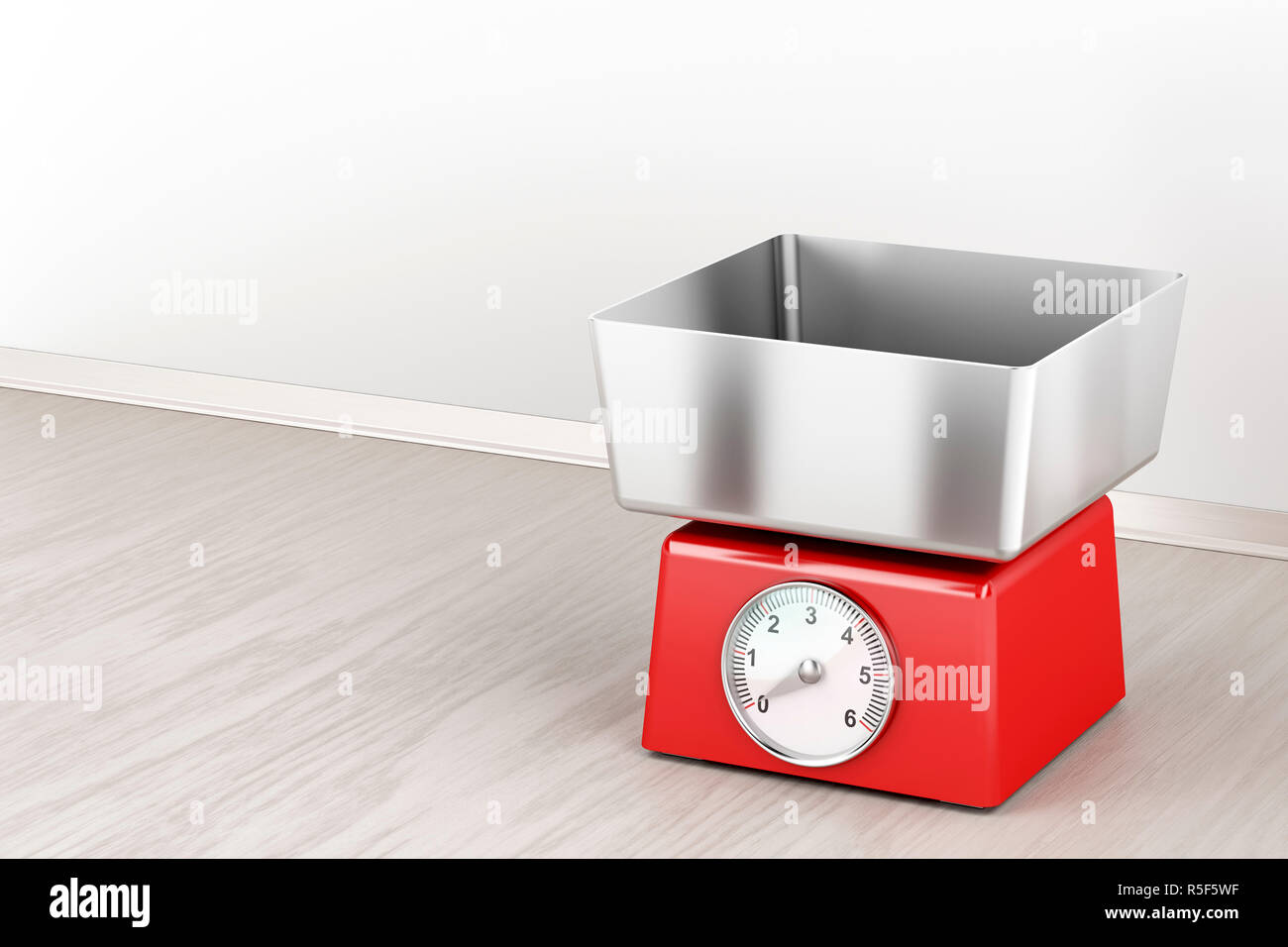 Mechanical weight scale - Stock Image