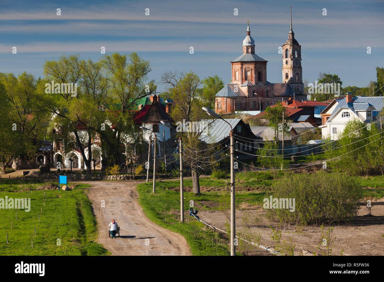 Russia, Vladimir Oblast, Golden Ring, Suzdal - Stock Image
