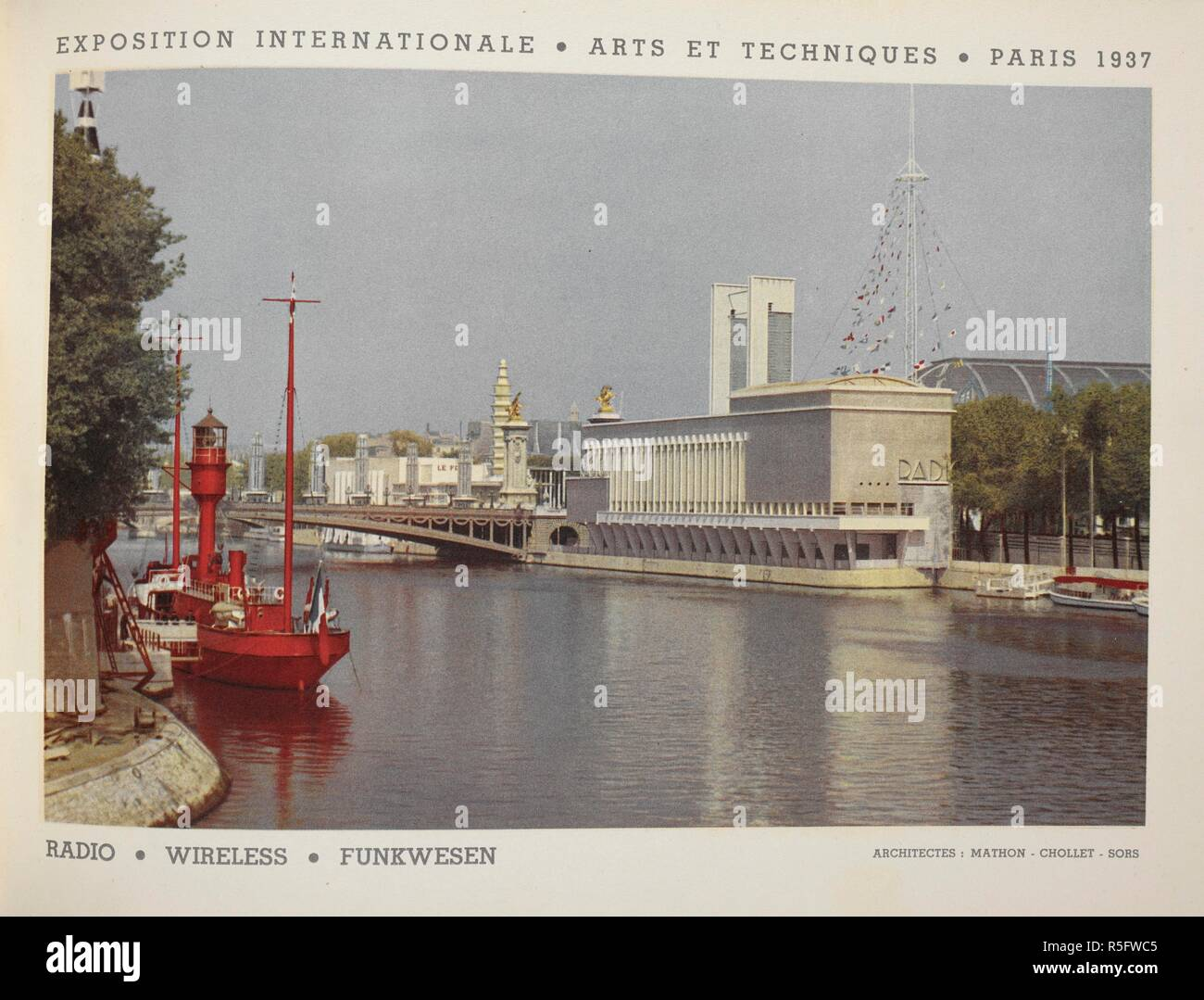 2a0c7d2bd Exposition Internationale Des Arts Et Techniques Stock Photos ...