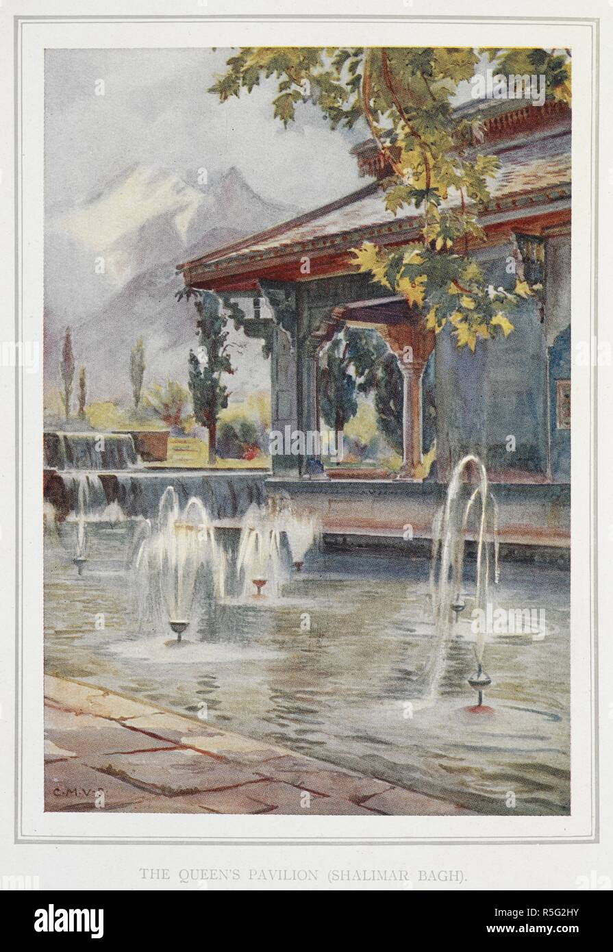 Gardens of the great Mughals 1913