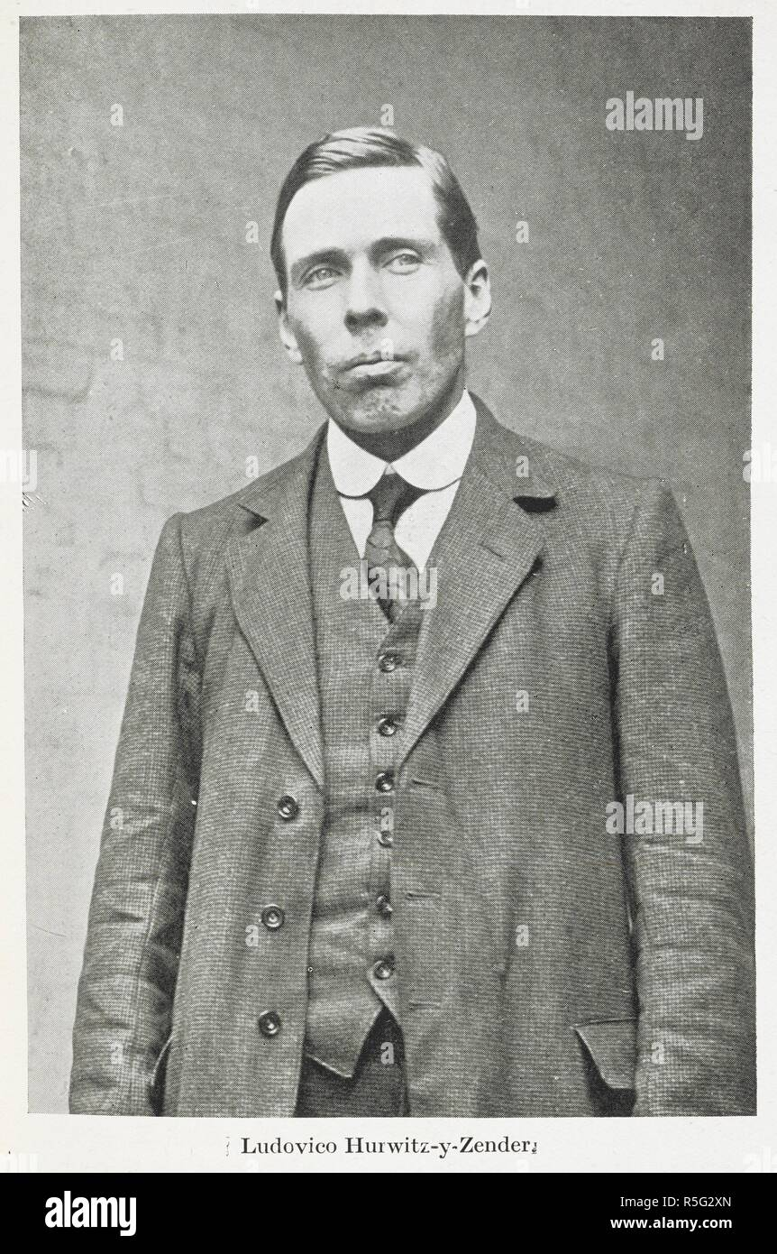 Ludovico Hurwitz-y-Zender was the last person executed at The Tower of London during World War One, on 7am on 11 April 1916. German Spies at Bay: being an actual record of the German espionage in Great Britain during the years 1914-1918 ... With illustrations. London : Hutchinson & Co., 1920. Source: 09083.cc.58 plate opposite page 140. Author: Felstead, Sidney Theodore. - Stock Image