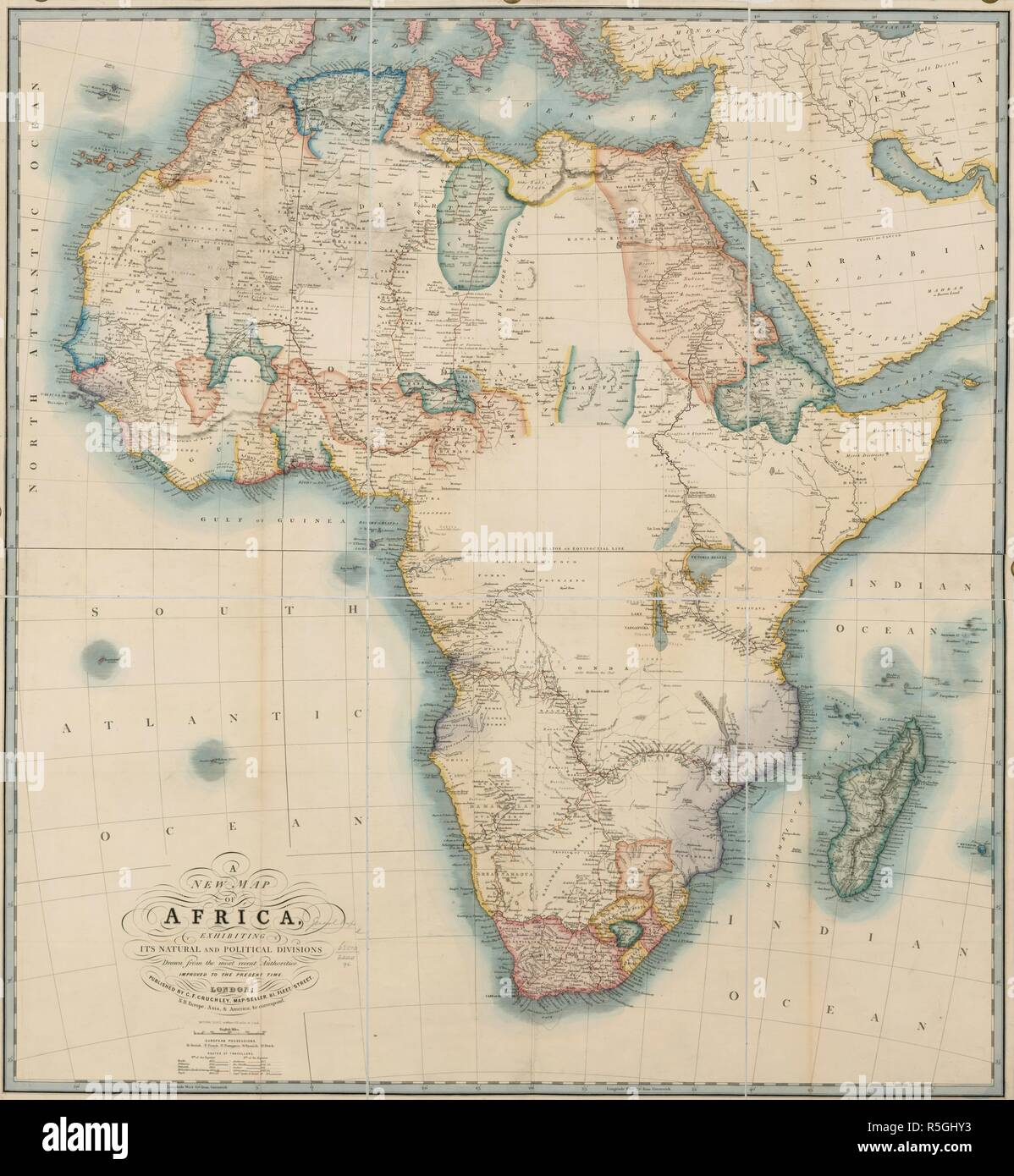 New Africa Map.New Map Of Africa Stock Photos New Map Of Africa Stock Images Alamy