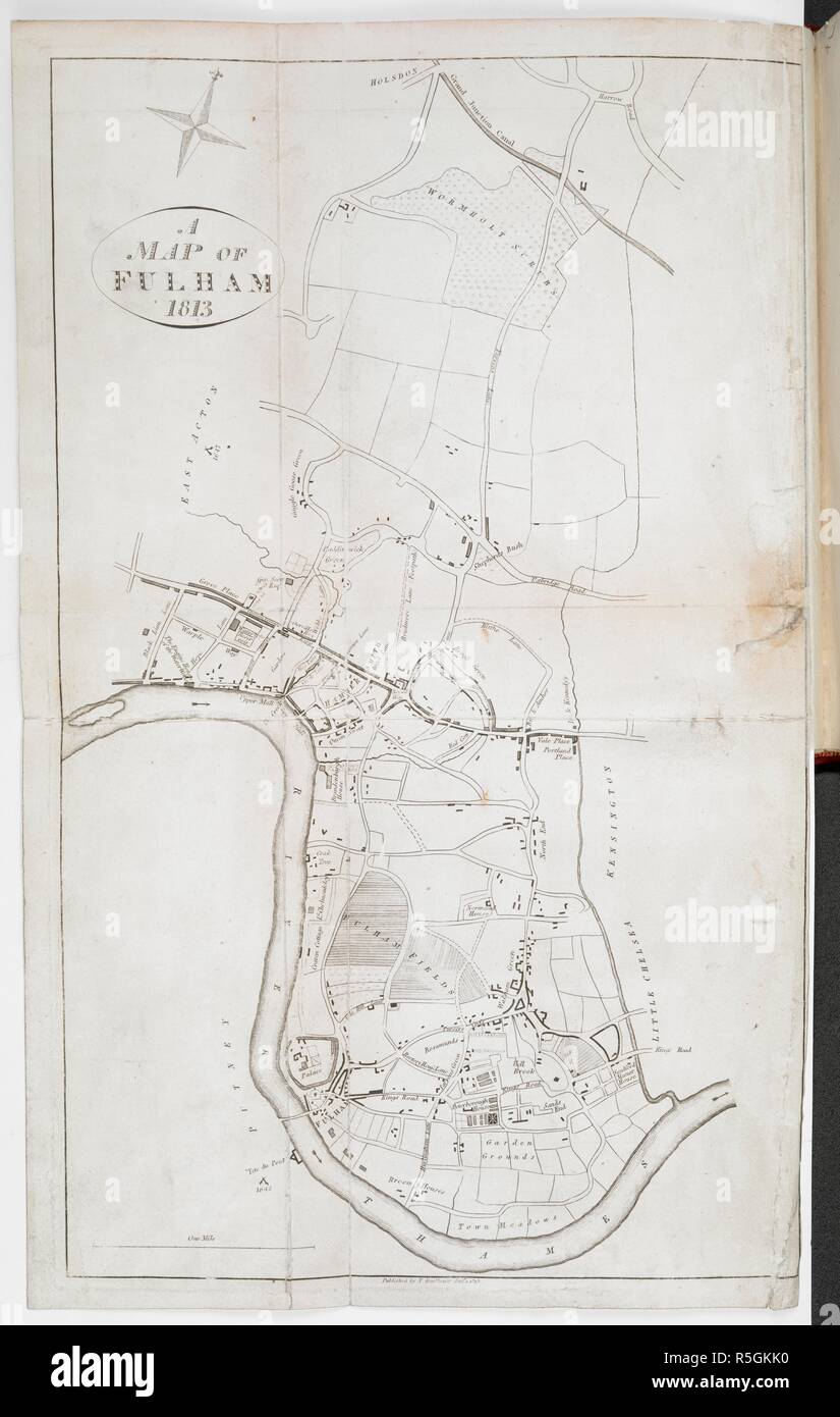 A Map Of Fulham An Historical And Topographical Account Of Fulham