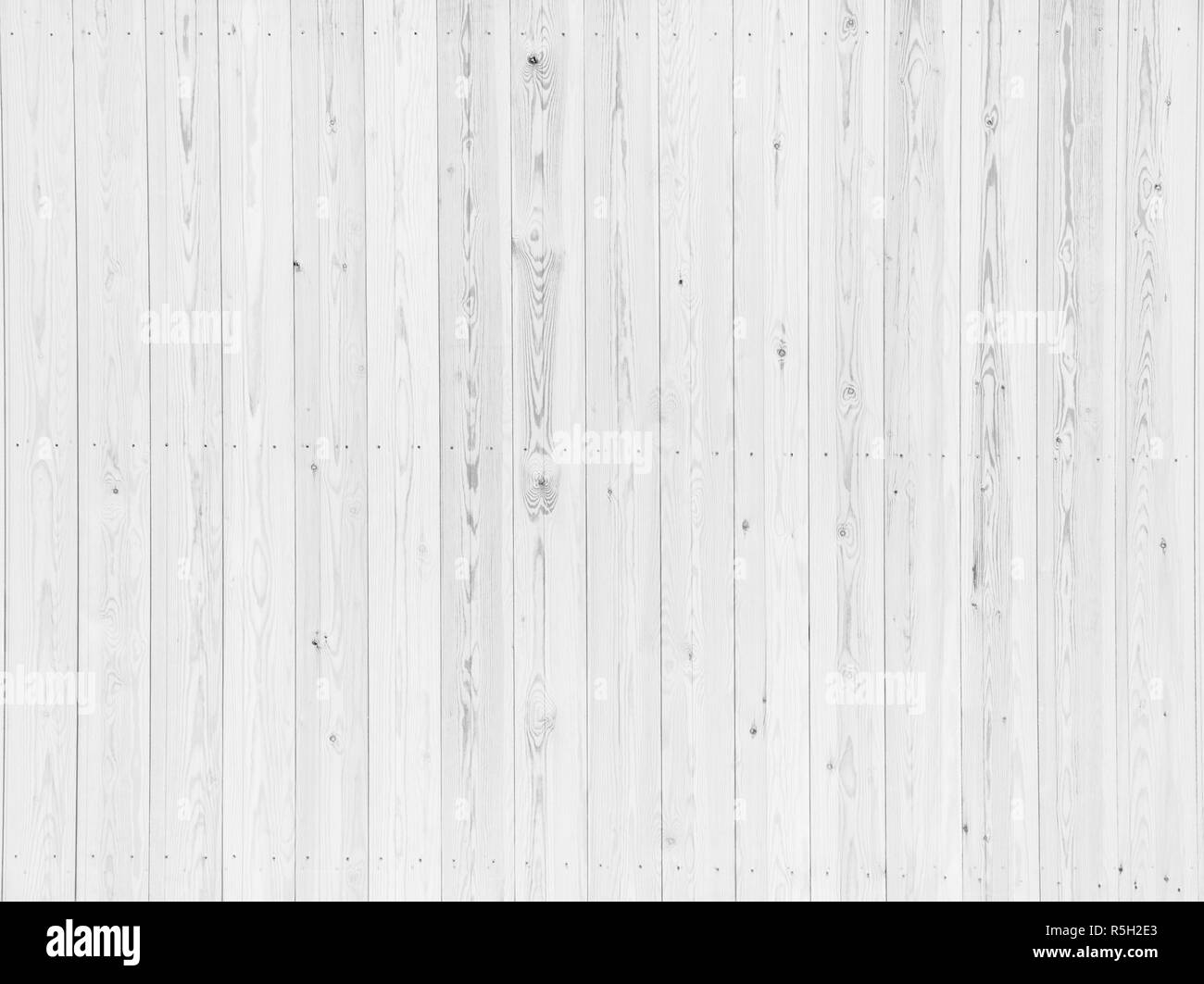 Aged Board with a gray tint with vertical lines - Stock Image