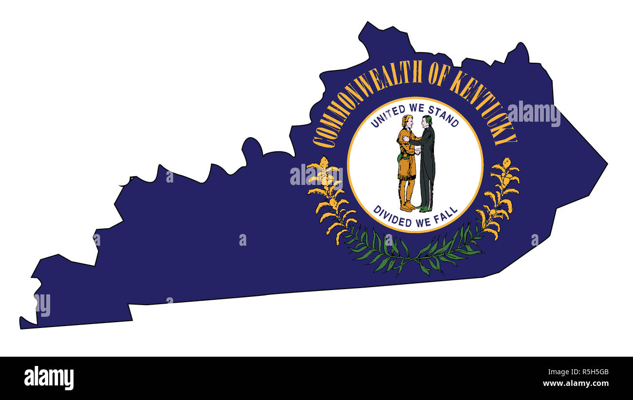 Kentucky State Outline Map and Flag Stock Photo: 227185627 - Alamy on kentucky state outline black, kentucky state black and white, kentucky state outline printables, kentucky outline clip art, northern kentucky map outline, kentucky county outline, kentucky state tree, kentucky regions outline map, lexington kentucky map outline, kentucky state shape, kentucky map outline blank, kentucky flag outline, kentucky us map with cities, kentucky state outline vector, commonwealth kentucky state outline, kentucky state population 2013, kentucky home outline, kentucky state bird, large map of kentucky outline, lexington kentucky state outline,
