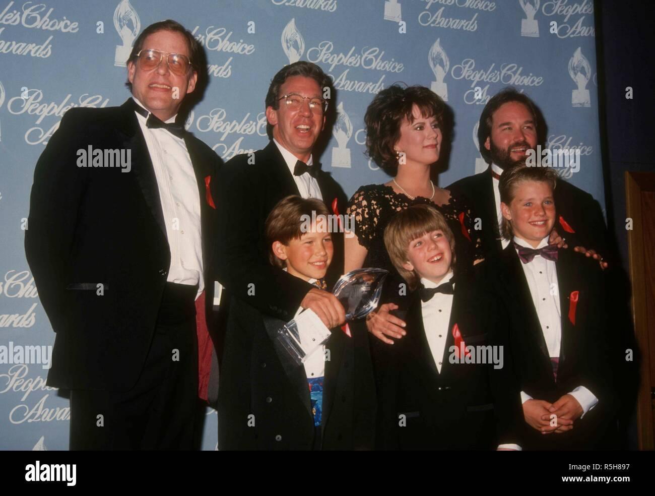 Universal City Ca March 9 L R Home Improvement Cast Actors Tim Allen Patricia Richardson Richard Kam