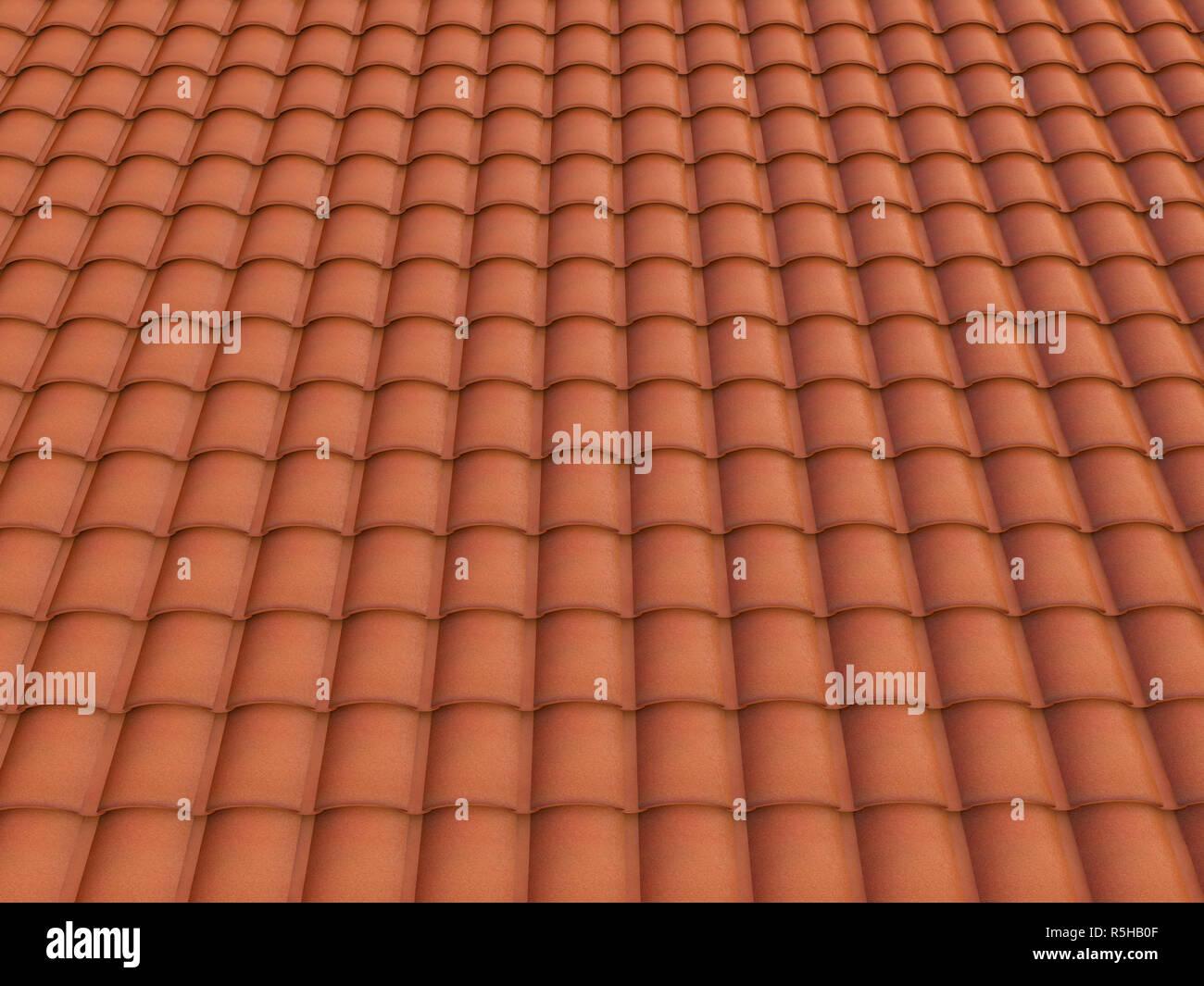Spanish tiles - Stock Image