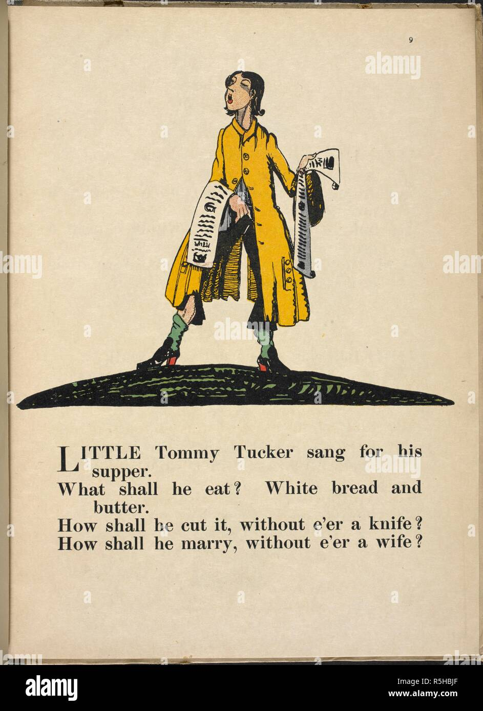 Nursery Rhymes With Pictures By C L Fraser London T E Jack 1919 Source 12800ddd31 Page 9 Author Claud Lovat