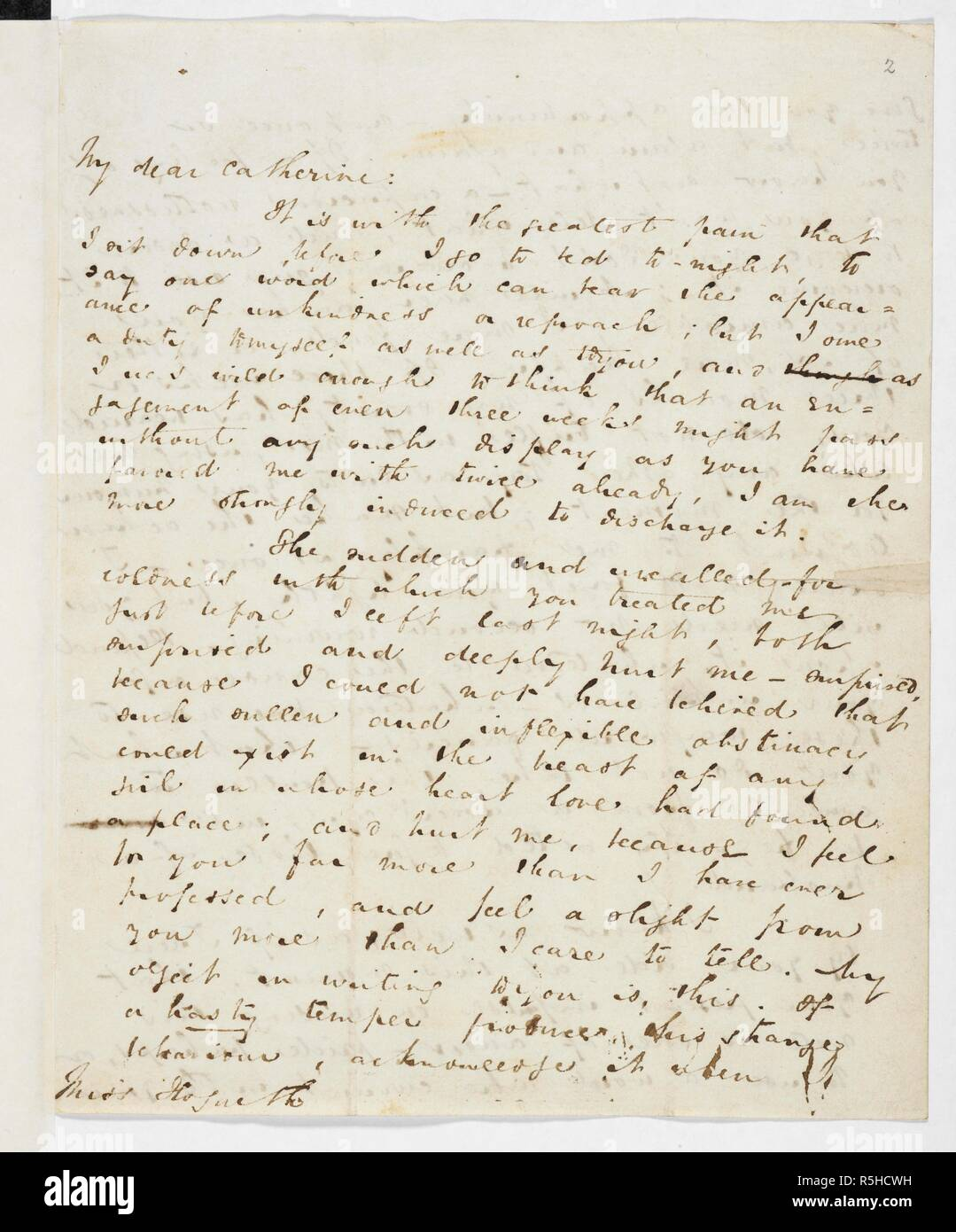 Letter from Charles Dickens to Catherine Hogarth, May 1835