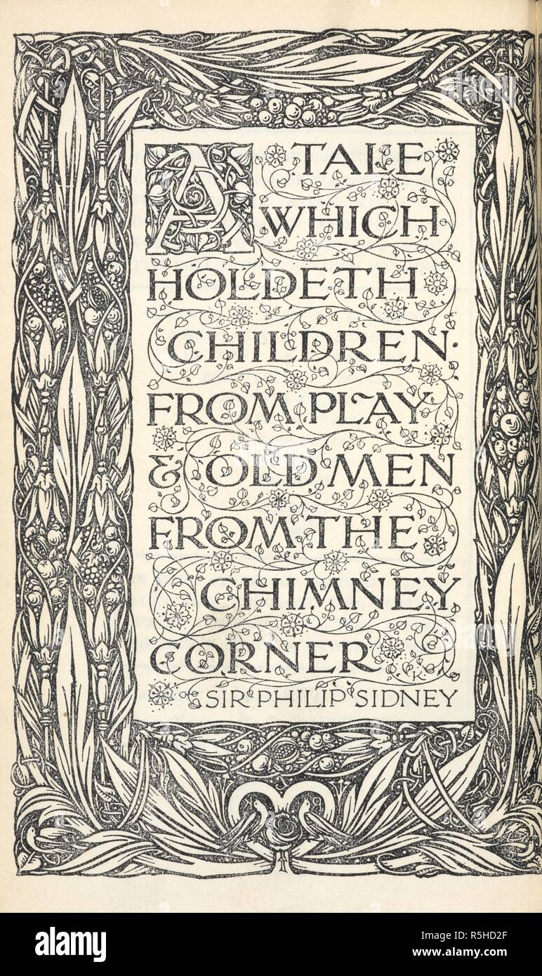 Decorative poem by Sir Philip Sidney facing title page with elaborate border design. The Idiot ... Newly revised version by Eva M. Martin. [1914]. Source: 12206.p.1/506. Title Page. Author: ANON. Dostoyevsky, Fedor. - Stock Image