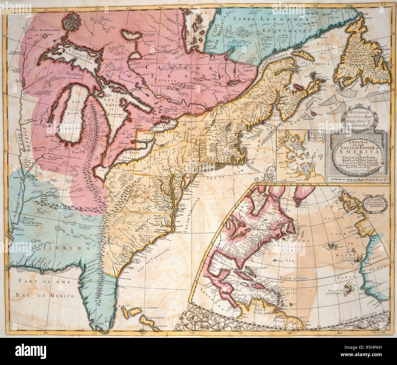 A map of America and Canada. A New General Atlas, containing a ...
