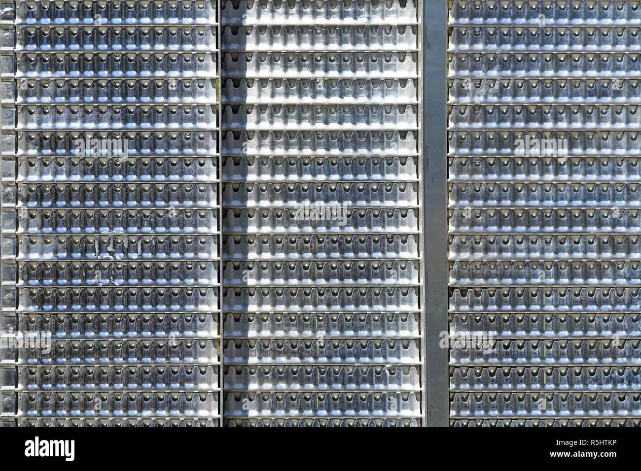 Metal Farm Flooring - Stock Image