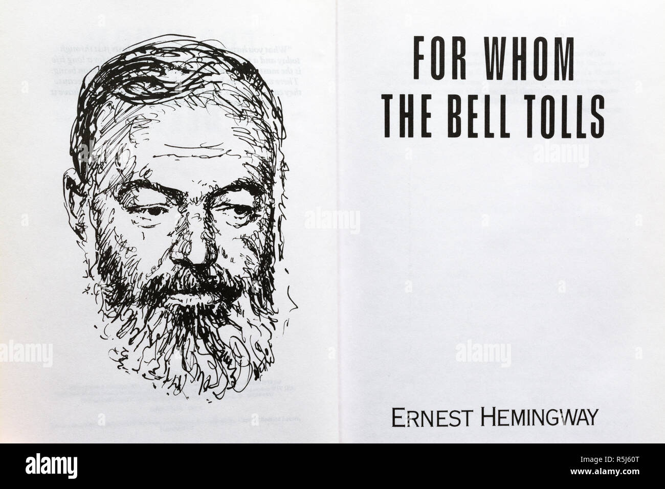 For Whom The Bell Tolls Book Novel By Ernest Hemingway