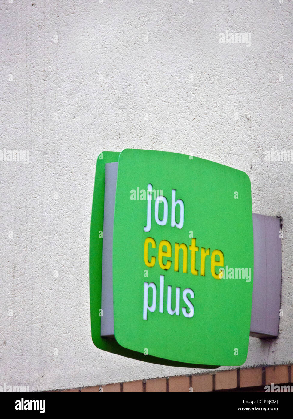 Job Centre Plus Sign, UK Stock Photo