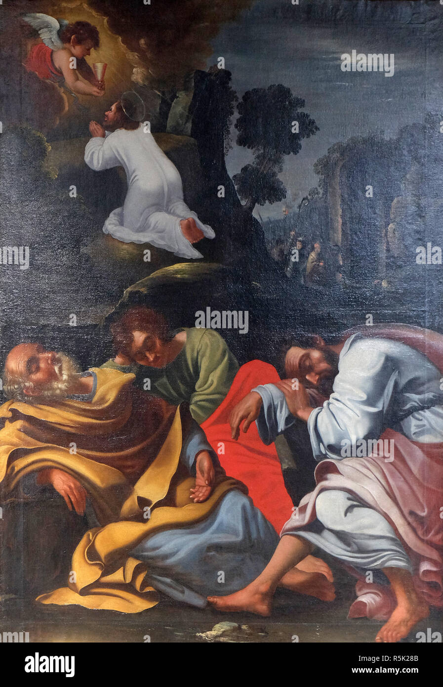 Agony In The Garden Jesus In The Garden Of Gethsemane The