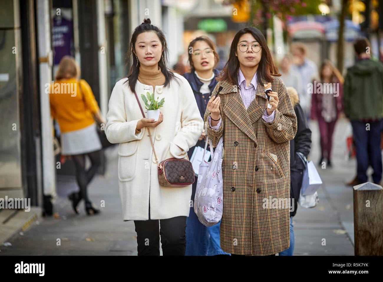 Liverpool city centre  Bold Street - Stock Image