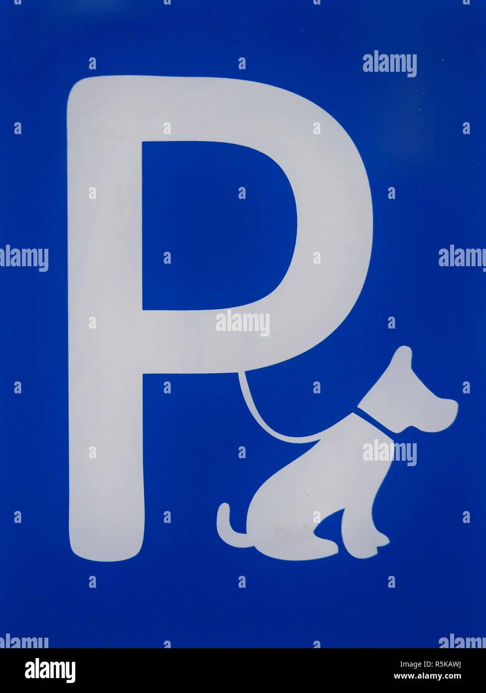dog park place - Stock Image