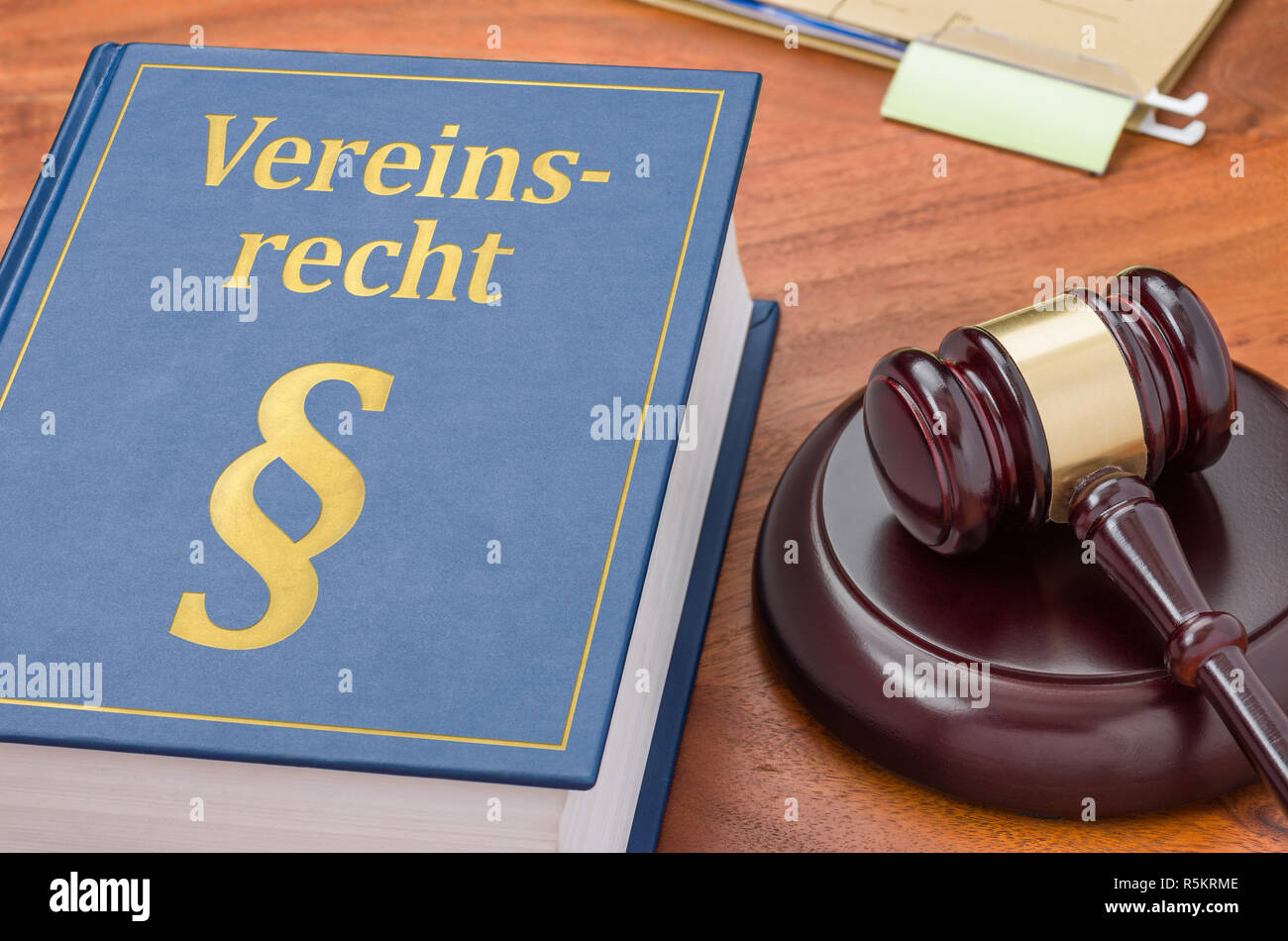 code of gavel - law of association - Stock Image