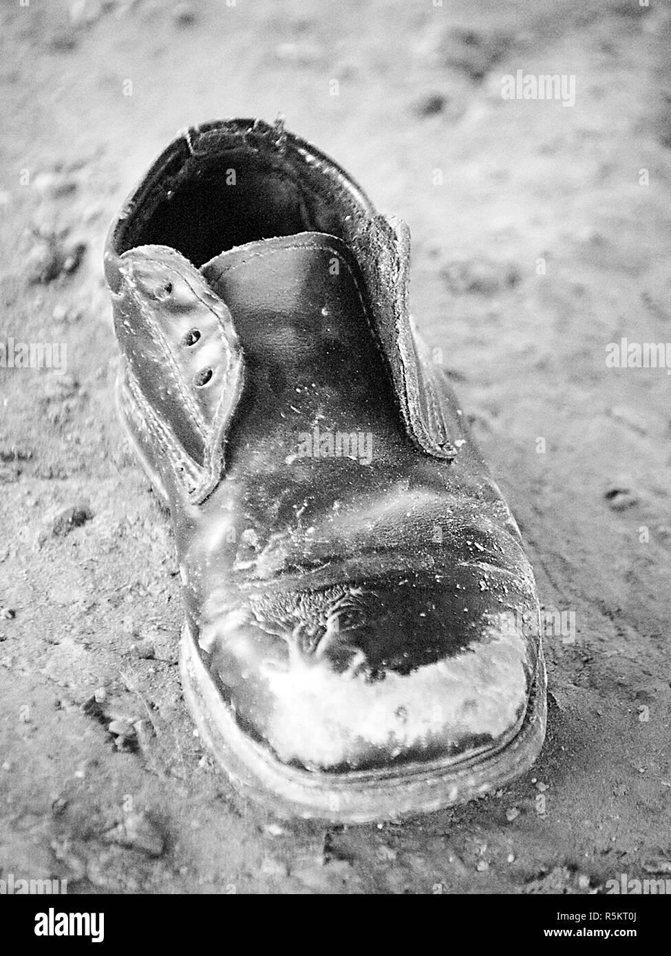 Old Shoes, Memories from a time long ago - Stock Image