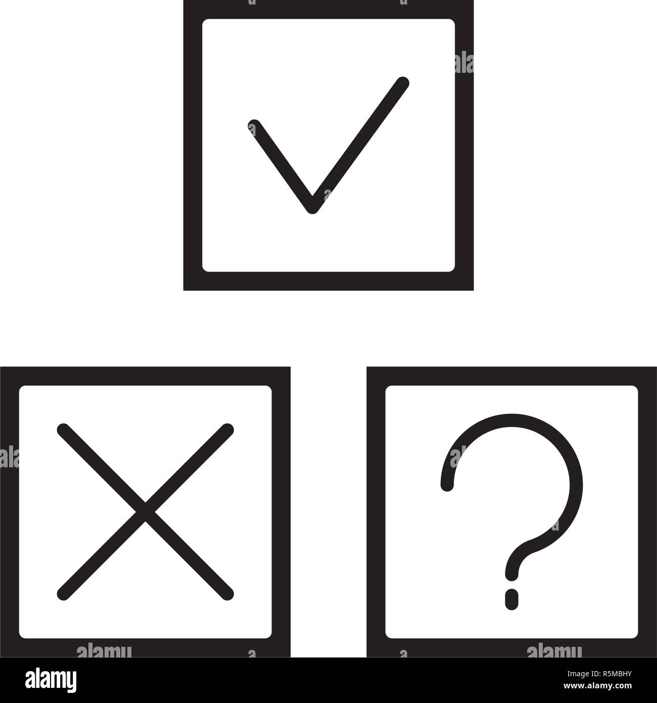 Rebus black icon, vector sign on isolated background. Rebus concept symbol, illustration  - Stock Image