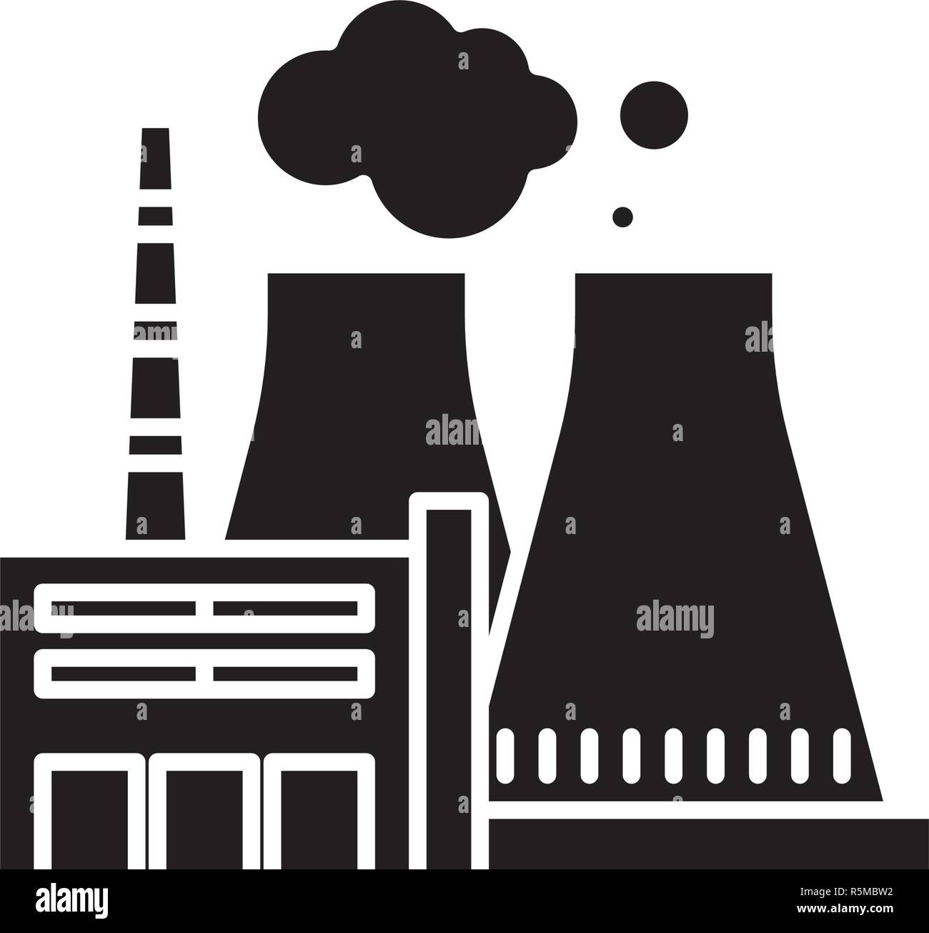 thermal stock vector images alamy Thermal Power Production thermal power plant black icon, vector sign on isolated background thermal power plant concept