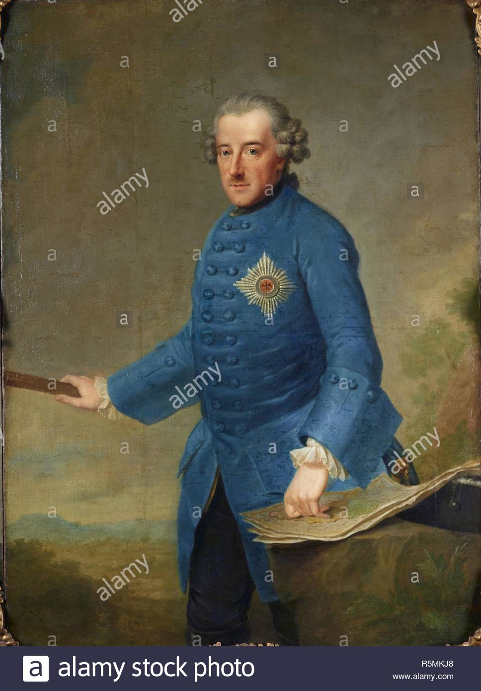 Portrait Of Frederick Ii Of Prussia 1712 1786 Museum Stiftung