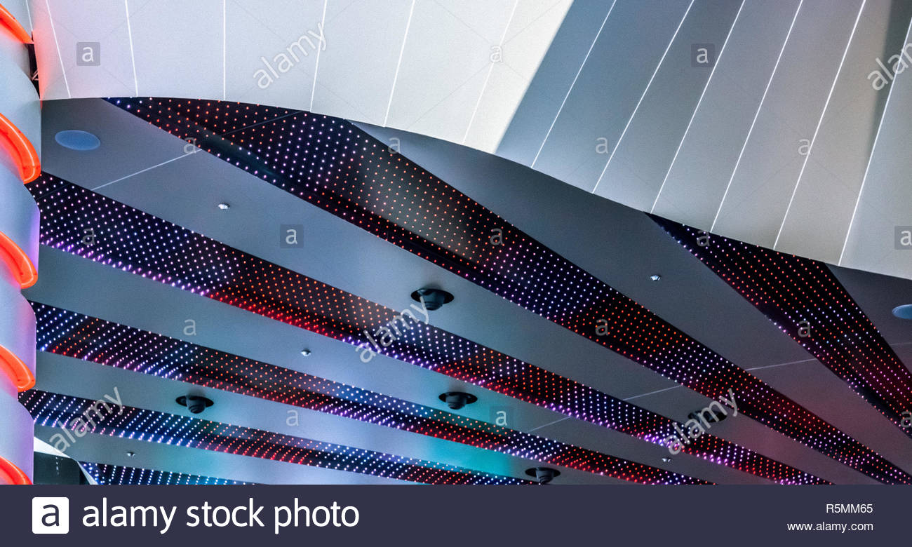 Close-up of a Building in Las Vegas - Stock Image