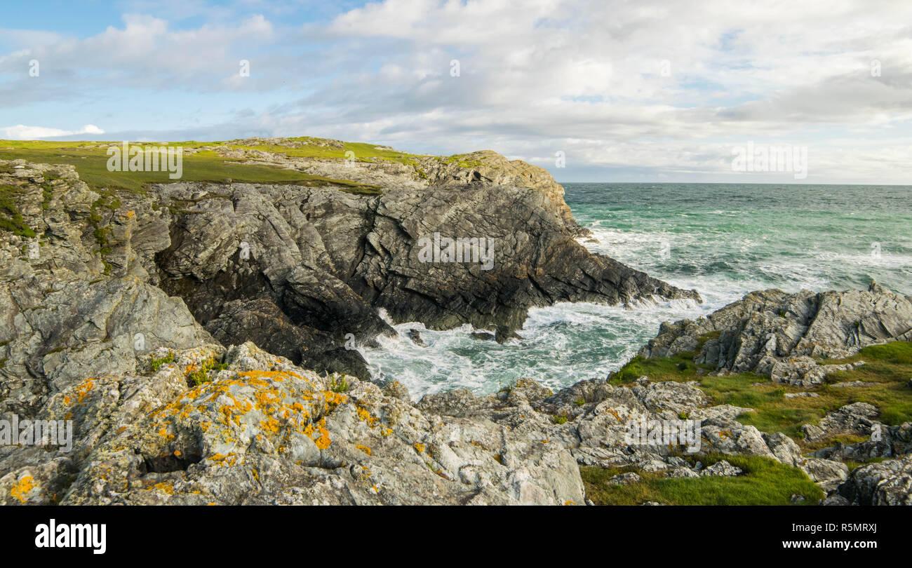 North Wales coastline - Stock Image
