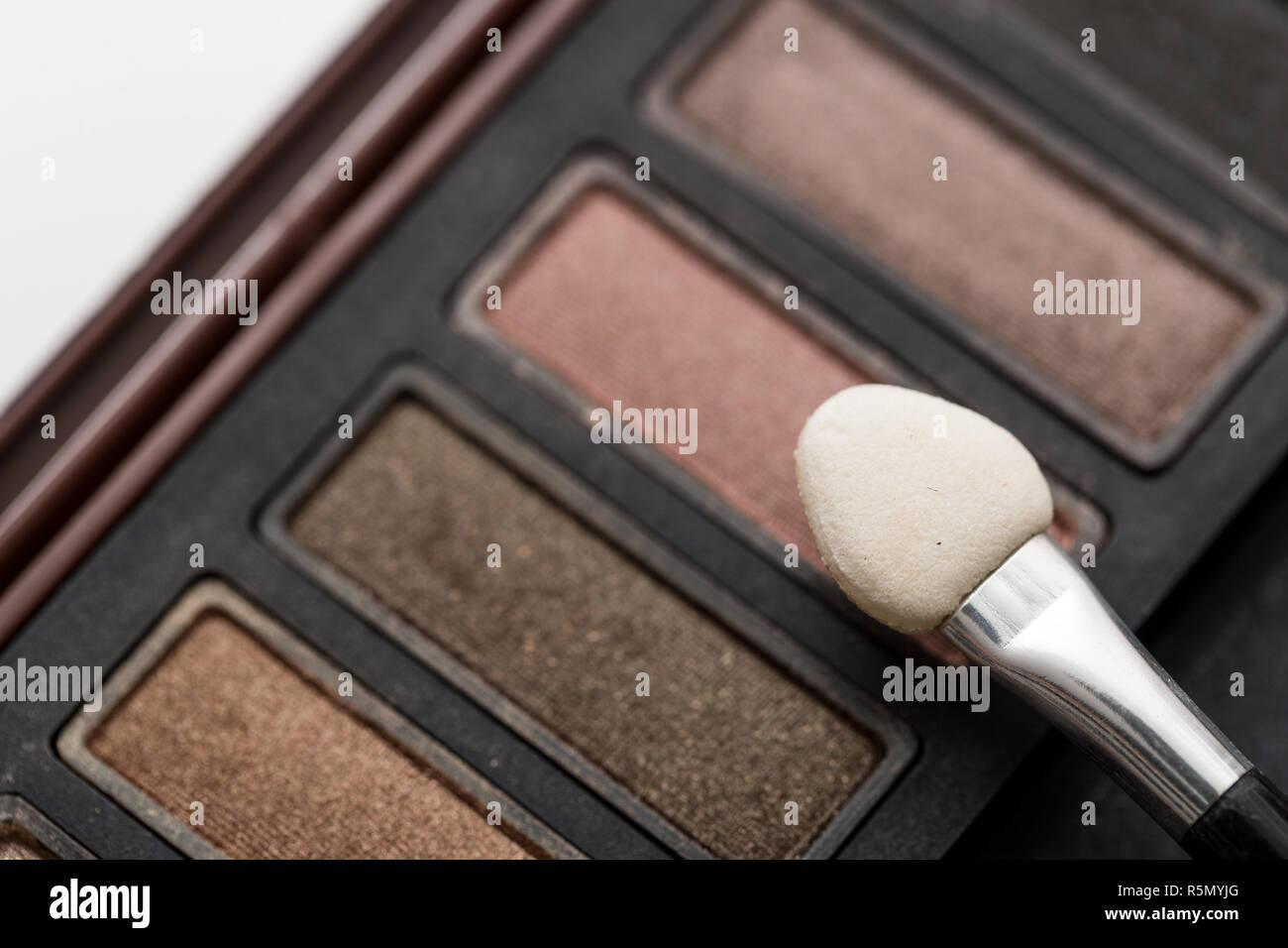 Eye Shadow Palette - Stock Image