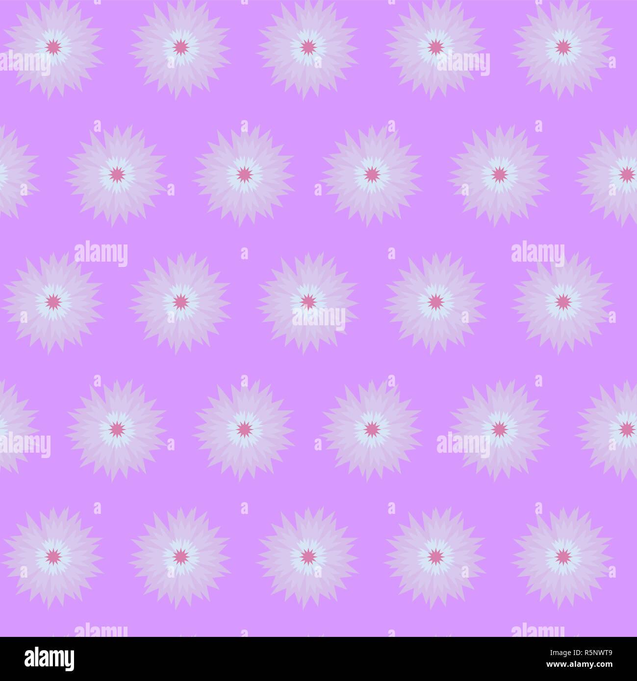 Violet Purple Flower Cornflower Isolated On White Background Cartoon Vector Centaurea Cyanus Illustration Stock Photo Alamy