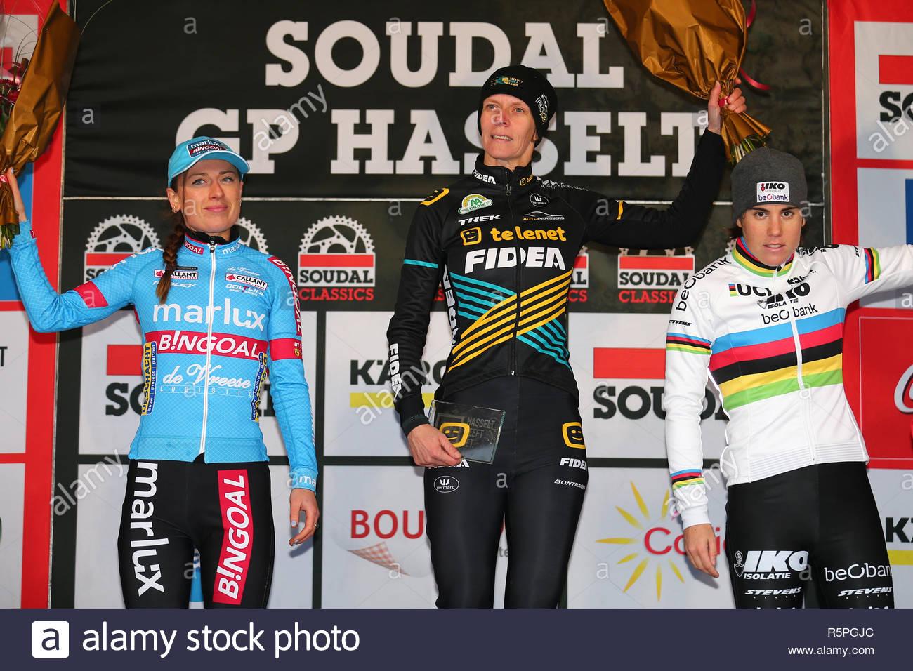 Hasselt Belgium 1 December 2018 Cyclecross Soudal Gp L R Denise